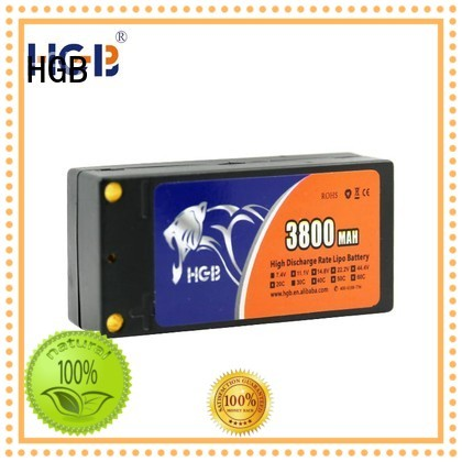 HGB reliable rc airplane batteries directly sale for RC planes