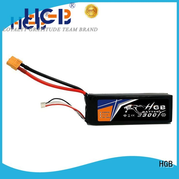 HGB rc batterier wholesale for RC quadcopters