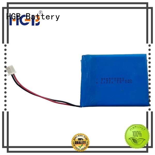 HGB flat lithium battery directly sale for digital products