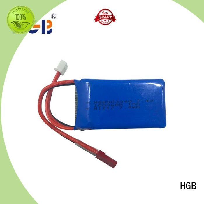HGB advanced rc lithium ion battery manufacturer for RC planes
