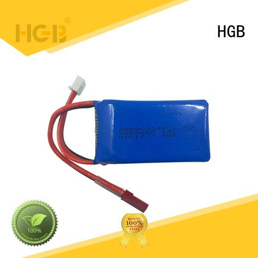 HGB reliable rc batterier factory price for RC helicopter