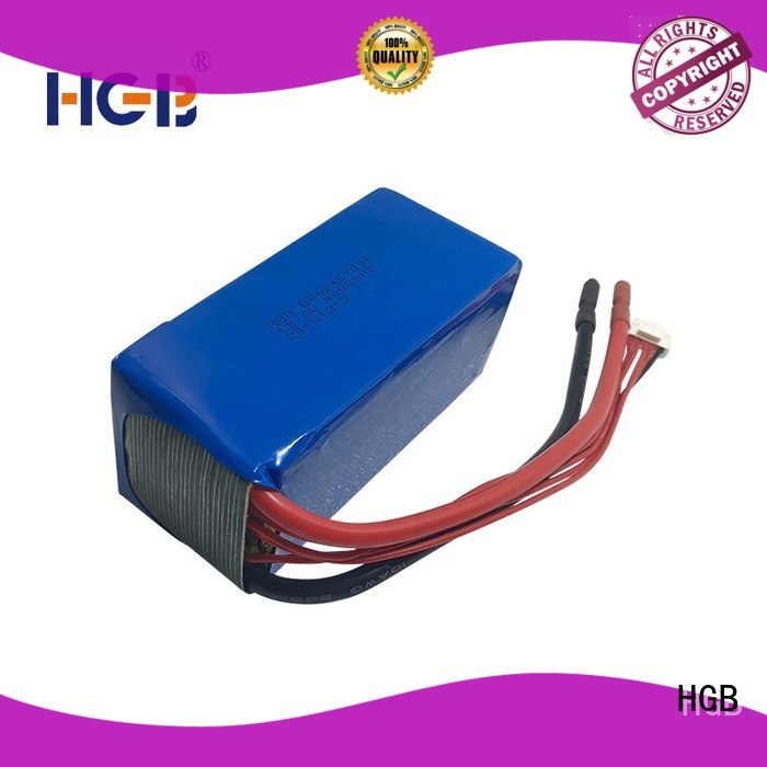 HGB lifepo4 battery customized for RC hobby