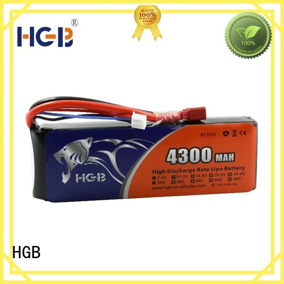 HGB polymer battery supplier for RC helicopter