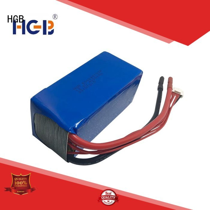 HGB lifepo4 18650 customized for RC hobby