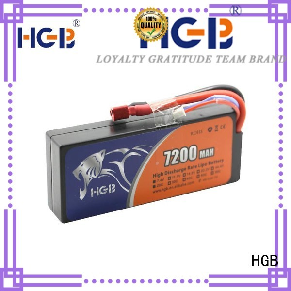 HGB high quality rc plane battery factory for RC helicopter
