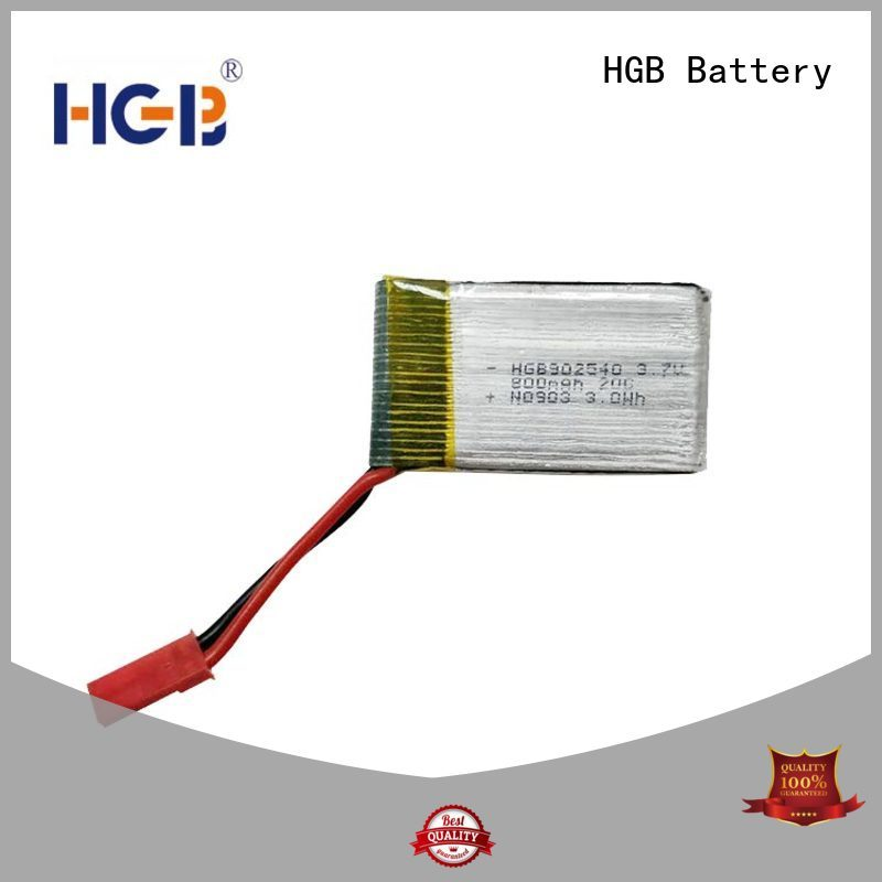 HGB rc lithium polymer batteries supplier for RC car
