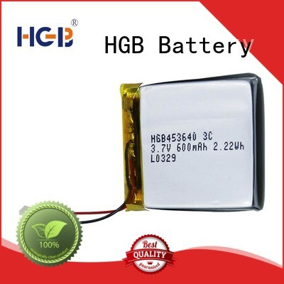 flat lithium polymer battery directly sale for mobile devices HGB