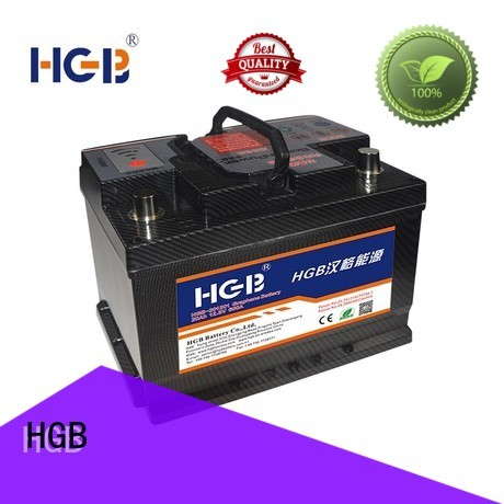 HGB charge quickly china graphene battery with good price for boats