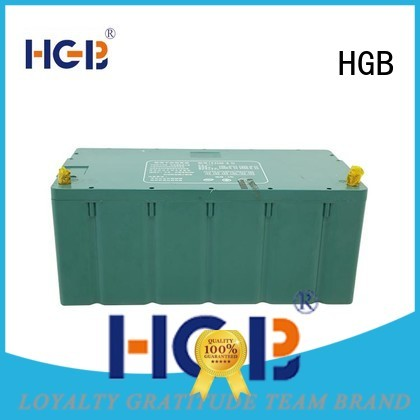 HGB rechargeable portable ev battery customized for tram