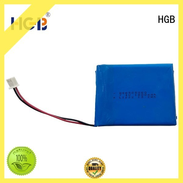 HGB popular thinnest lithium ion battery manufacturer for digital products