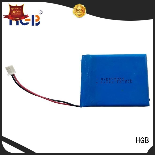 HGB thin rechargeable battery customized for mobile devices