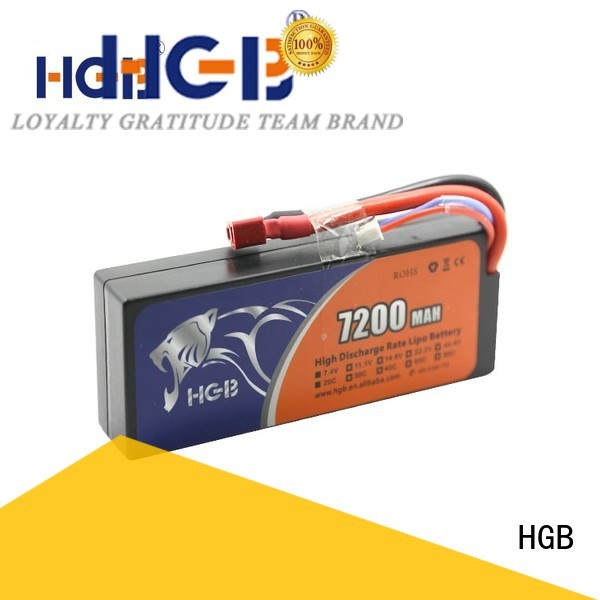HGB professional rc lithium ion battery directly sale for RC planes