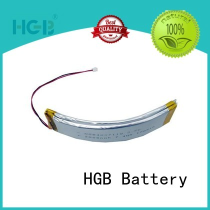 HGB flexible lithium ion battery manufacturer for multi-function integrated watch
