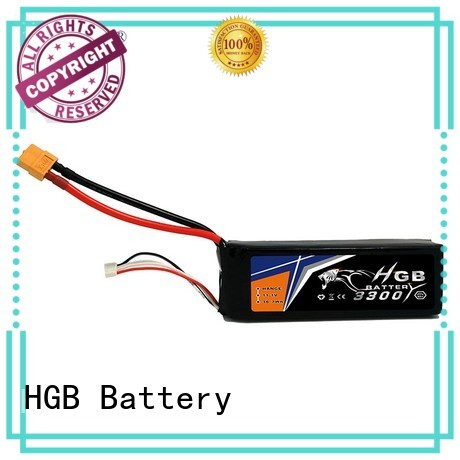 HGB popular polymer battery manufacturer for RC helicopter