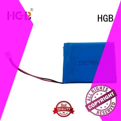 thin rechargeable battery for mobile devices HGB