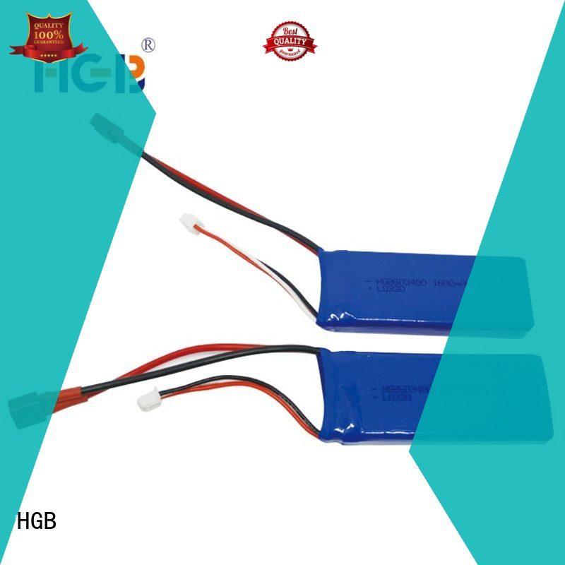 HGB li ion rc battery factory for RC car