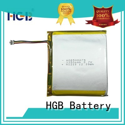 light weight flat cell lithium ion battery customized for digital products