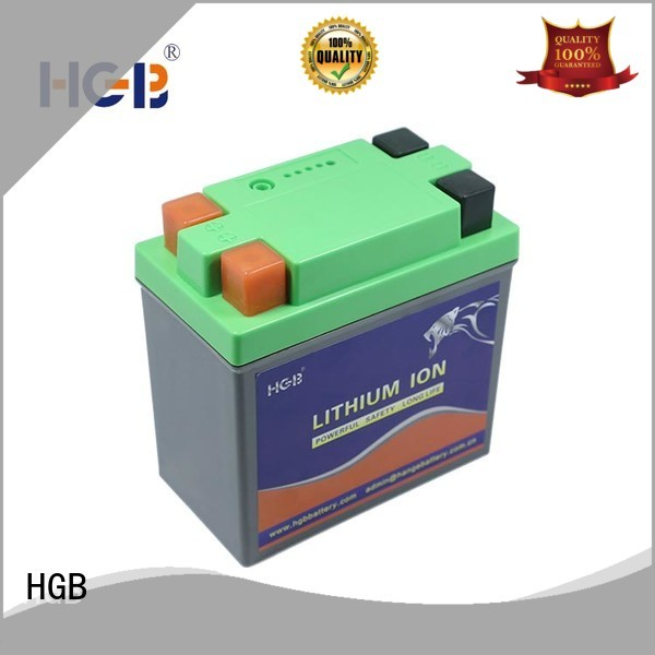 HGB long cycle life lifepo4 car battery fast charge for power tool