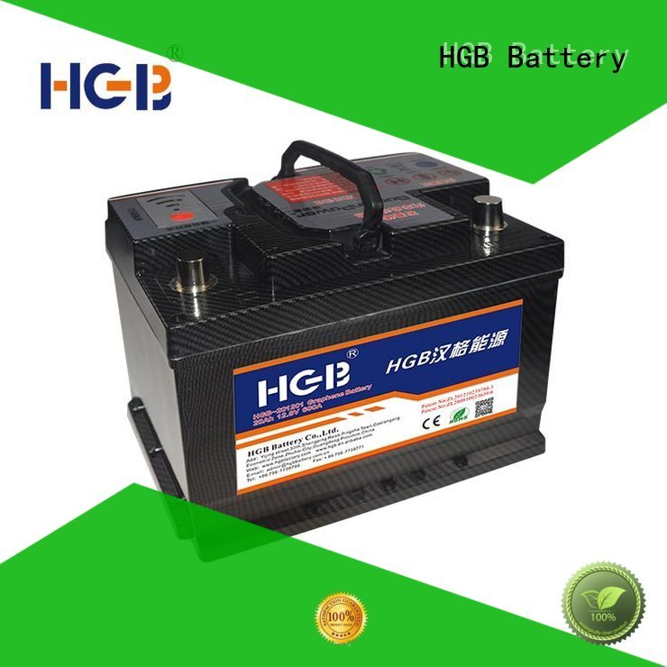 HGB lasting lithium car battery supplier for tractors
