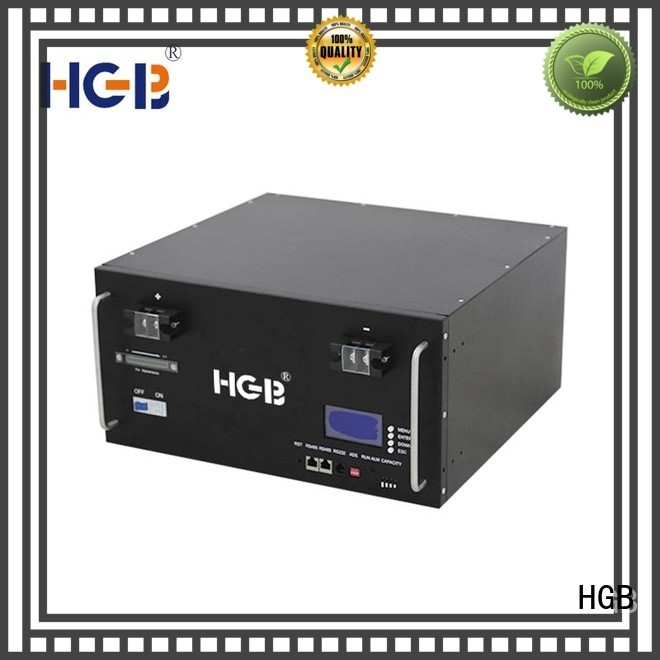 HGB fast-charging lithium ion phosphate battery manufacturer for Cloud/Solar Power Storage System