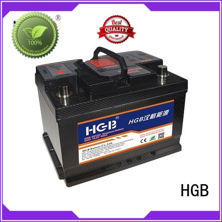 HGB convenient graphene car batteries supplier for cars