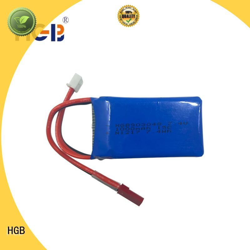 HGB lithium polymer battery rc wholesale for RC helicopter