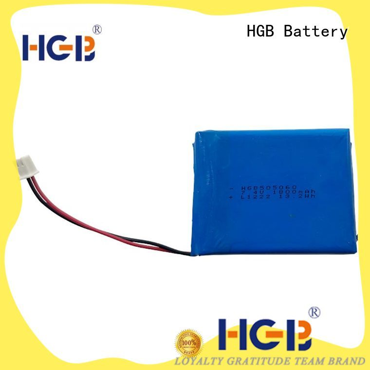 HGB good quality flat lithium battery factory price for mobile devices
