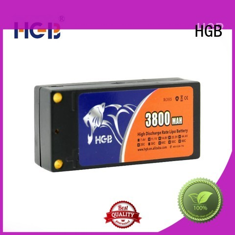 rc battery factory price for RC quadcopters HGB