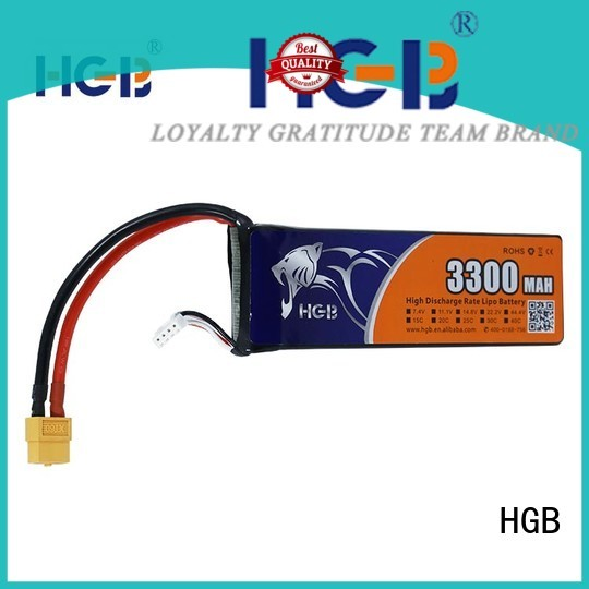 HGB rc helicopter battery factory for RC car
