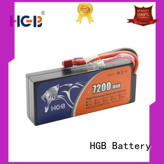 HGB advanced rc helicopter rechargeable batteries factory price for RC car