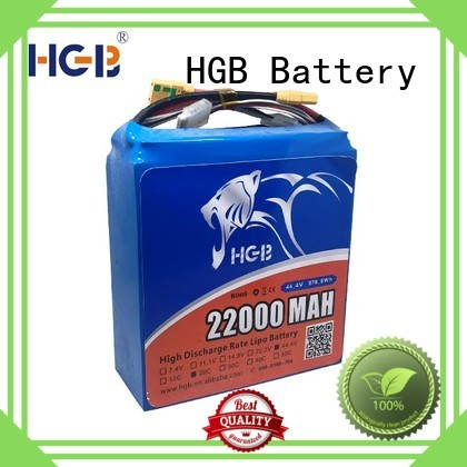 HGB rc drone battery customized manufacturer