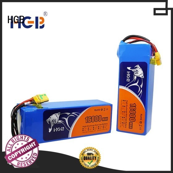 HGB charge quickly lithium polymer battery for drone customized for Aircraft