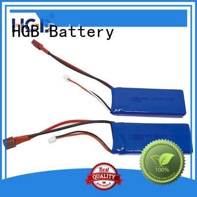HGB rechargeable rc rechargeable batteries wholesale for RC quadcopters
