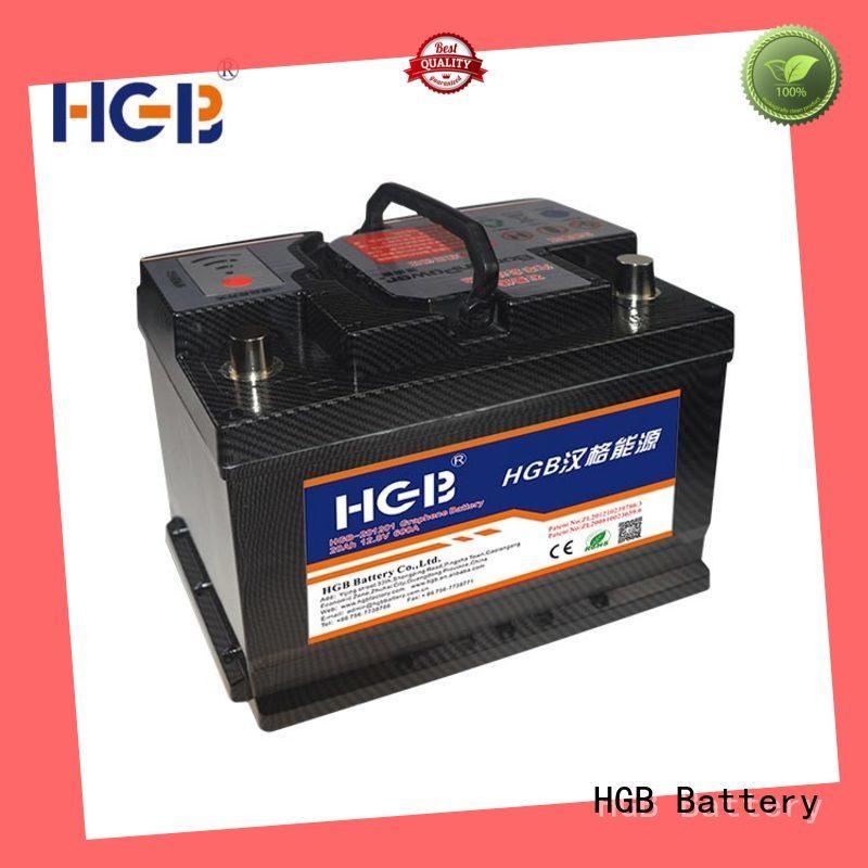 HGB graphene battery pack supplier for vehicle starter