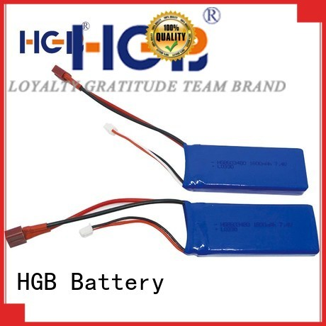 HGB rc battery factory for RC planes