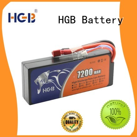 HGB advanced li ion rc battery supplier for RC helicopter
