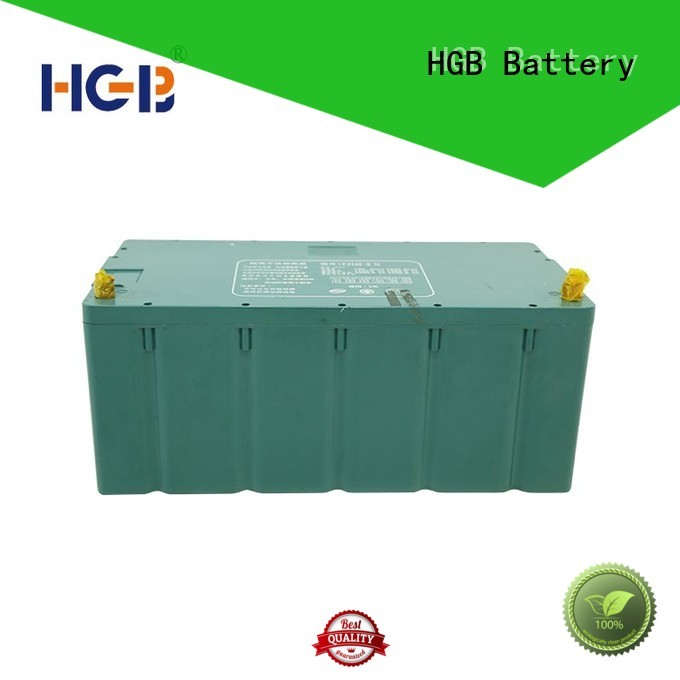 HGB high quality ev battery manufacturer for heavy duty transportation