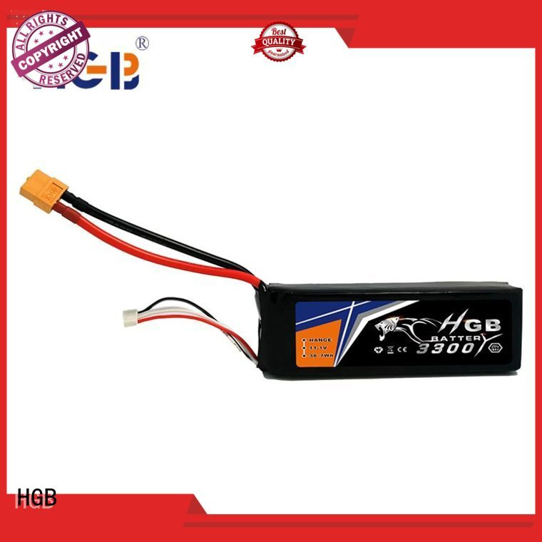 HGB li ion rc battery factory price for RC quadcopters