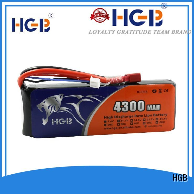 HGB professional rc plane battery supplier for RC quadcopters