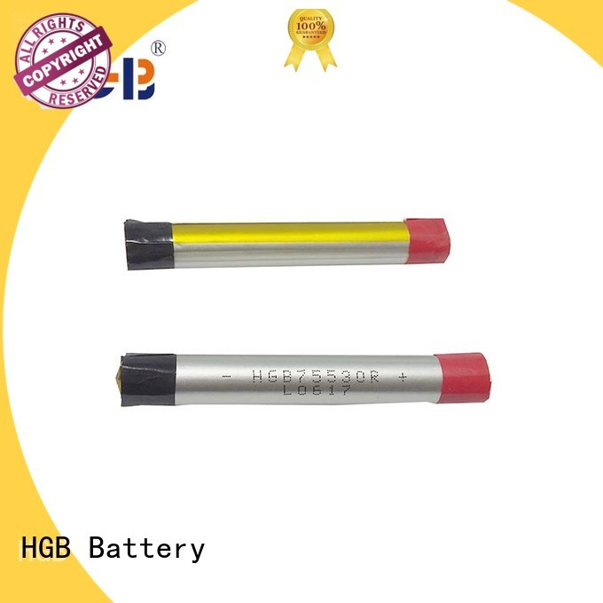HGB lithium polymer li poly batteries manufacturer for rechargeable devices