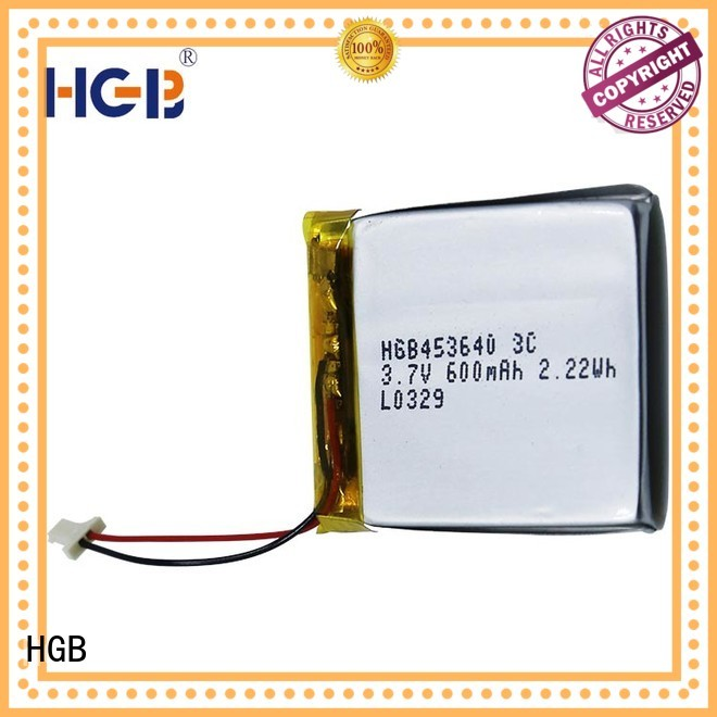 HGB flat lithium polymer battery directly sale for mobile devices