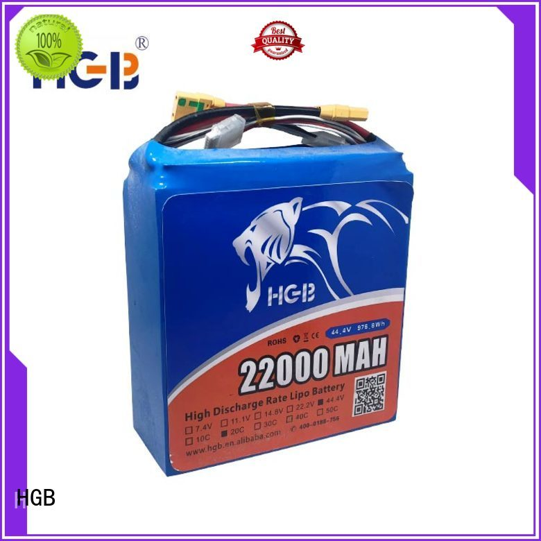 HGB rechargeable sky drone battery series manufacturer