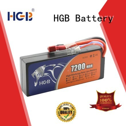 HGB rechargeable polymer battery directly sale for RC helicopter