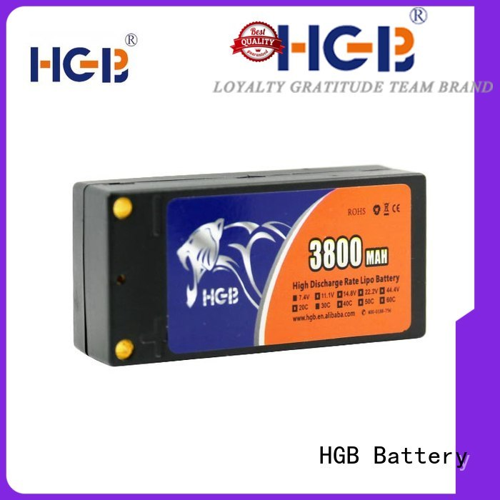 HGB rechargeable rc helicopter battery manufacturer for RC car