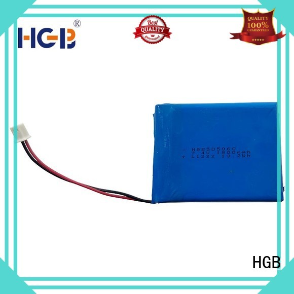 HGB popular flat cell lithium ion battery customized for computers