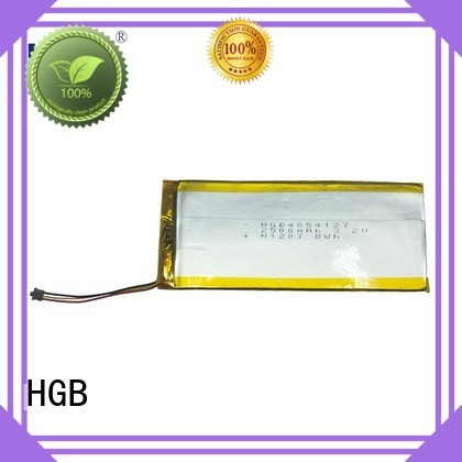HGB high voltage flat lithium battery supplier for notebook
