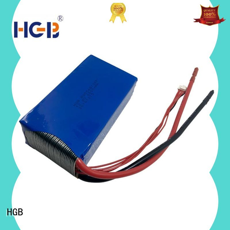 HGB lithium iron phosphate battery pack price supplier for RC hobby