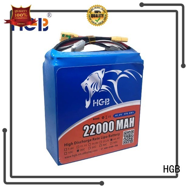 HGB sky drone battery wholesale manufacturer
