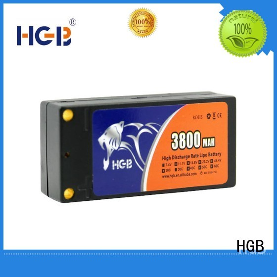HGB rechargeable rc airplane batteries manufacturer for RC quadcopters