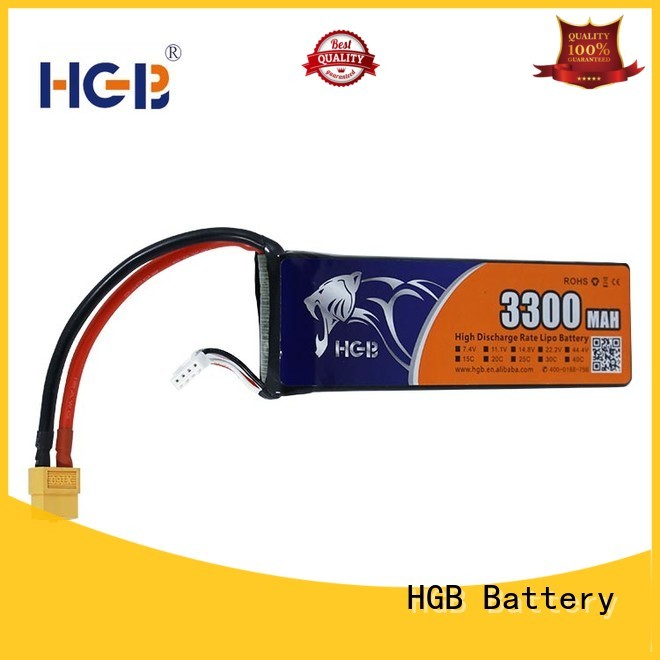HGB rc helicopter battery factory price for RC car